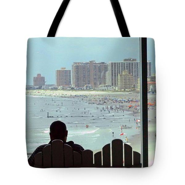 Atlantic City  Nj U.s.a. Tote Bag by Allen Beilschmidt