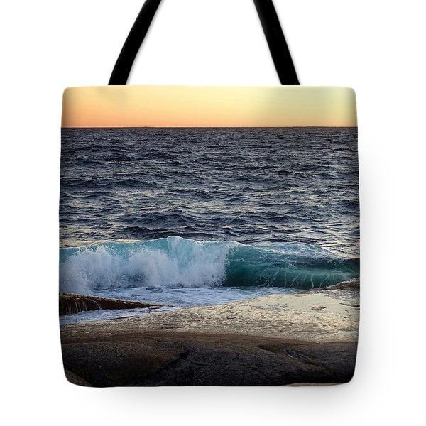 Atlantic Ocean, Nova Scotia Tote Bag