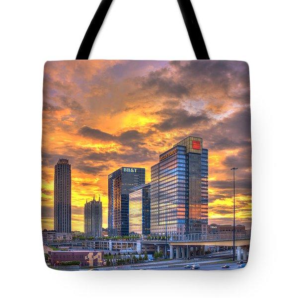 Atlantic Station Reflective Beauty Atlanta Tote Bag