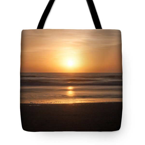 Atlantic Sunrise Tote Bag by Marion Johnson