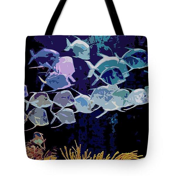 Atlantis Aquarium Tote Bag by DigiArt Diaries by Vicky B Fuller
