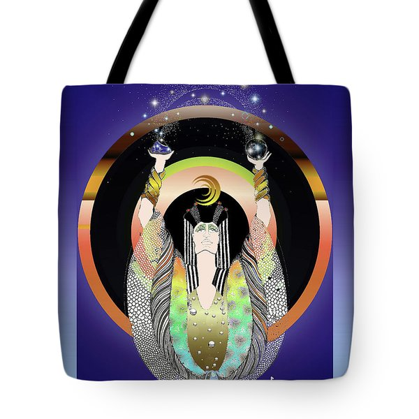Atlantis - Copper Ring Energy Alchemy Tote Bag