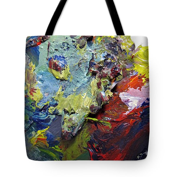 Tote Bag featuring the painting Atlantis Map by Charlie Spear