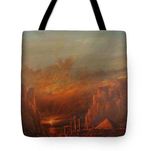 Atlantis Tote Bag by Tom Shropshire