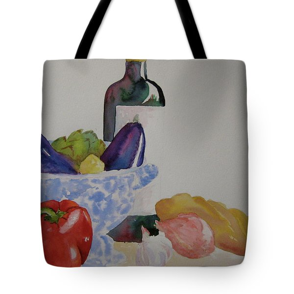 Tote Bag featuring the painting Atlas by Beverley Harper Tinsley