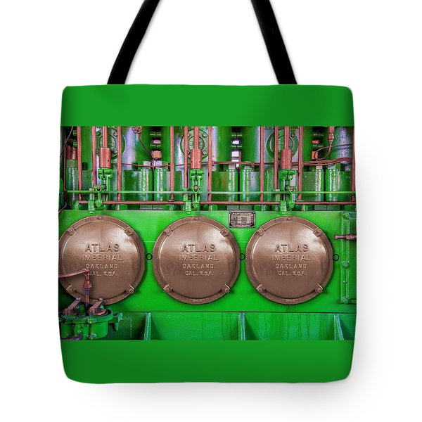 Tote Bag featuring the photograph Atlas Imperial by Paul Wear