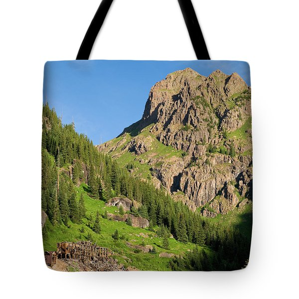 Tote Bag featuring the photograph Atlas Mine by Steve Stuller