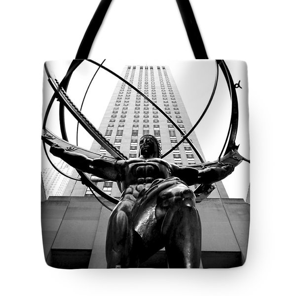 Atlas Tote Bag by Mitch Cat