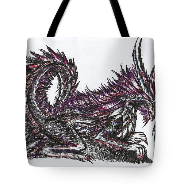 Atma Weapon Catoblepas Fusion Tote Bag by Shawn Dall