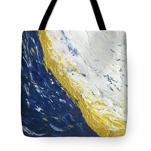 Atmospheric Conditions, Panel 3 Of 3 Tote Bag