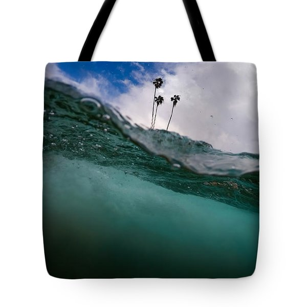 Atmospheric Pressure Tote Bag