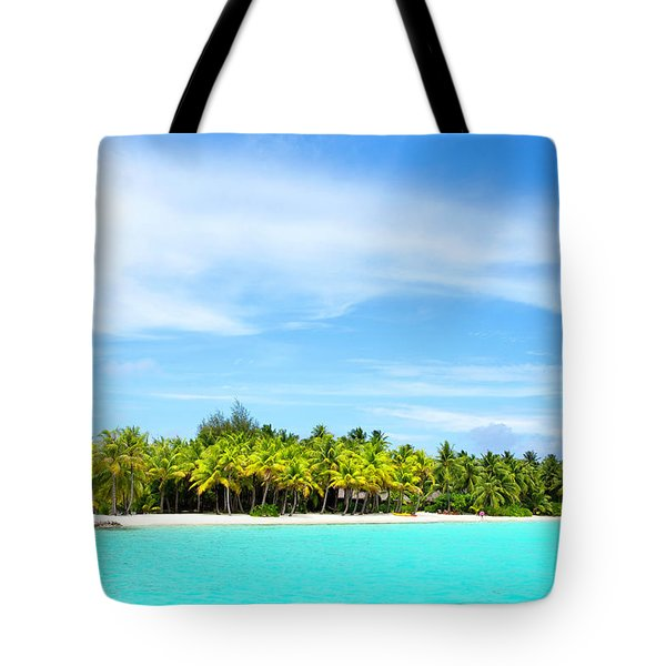 Atoll Tote Bag by Sharon Jones