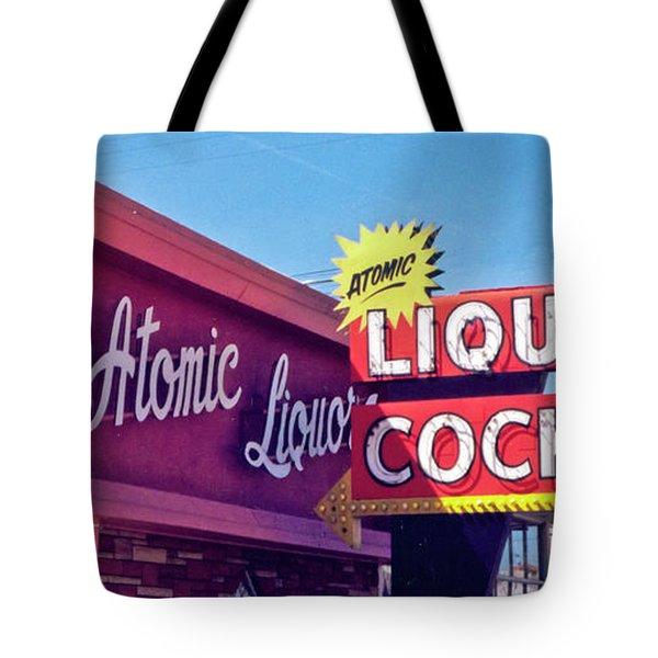 Atomic Liquors Tote Bag