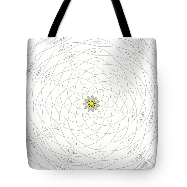 Atomic Lotus No. 1 Tote Bag