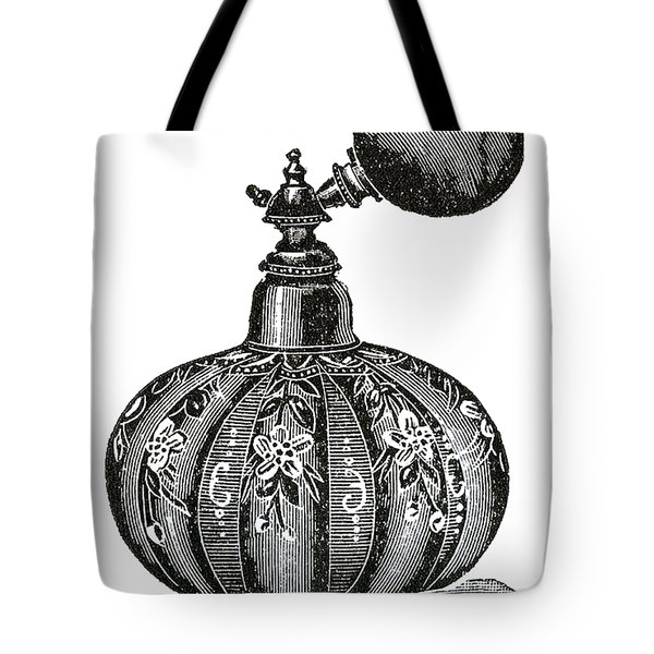 Tote Bag featuring the digital art Atomizer by ReInVintaged