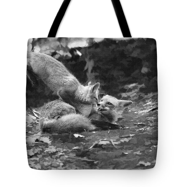 Tote Bag featuring the photograph Attack by Dan Friend