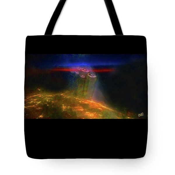 Attack Of The Aliens Tote Bag