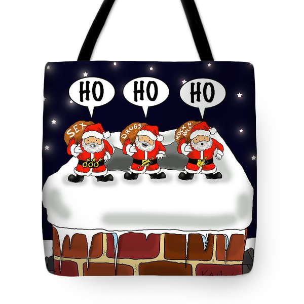 Attack Of The Mini-santas Tote Bag