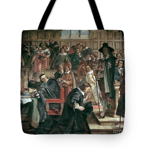 Attempted Arrest Of 5 Members Of The House Of Commons By Charles I Tote Bag by Charles West Cope