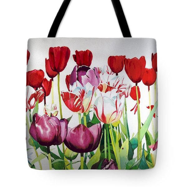 Attention Tote Bag by Elizabeth Carr