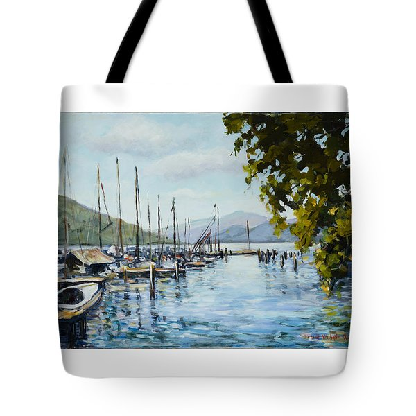 Attersee Austria Tote Bag by Alexandra Maria Ethlyn Cheshire