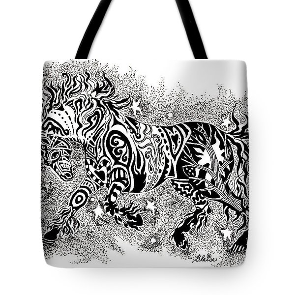 Attitude In Motion Tote Bag by Yvonne Blasy
