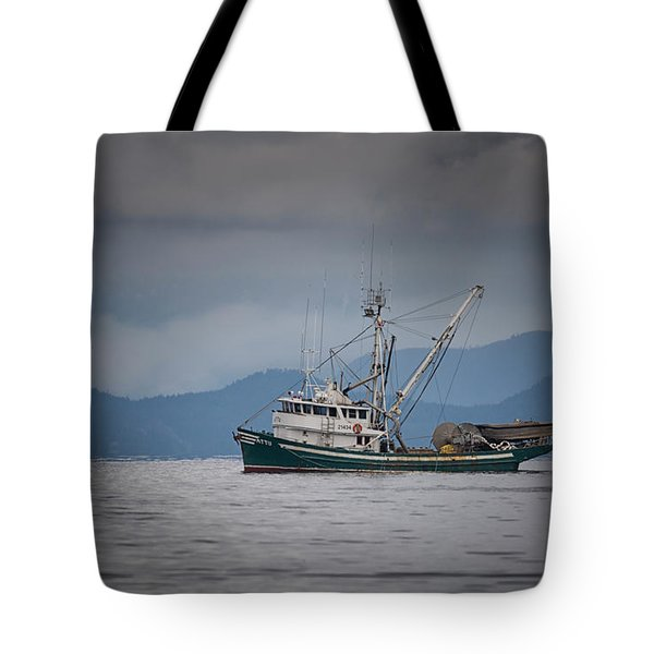 Tote Bag featuring the photograph Attu Off Madrona by Randy Hall