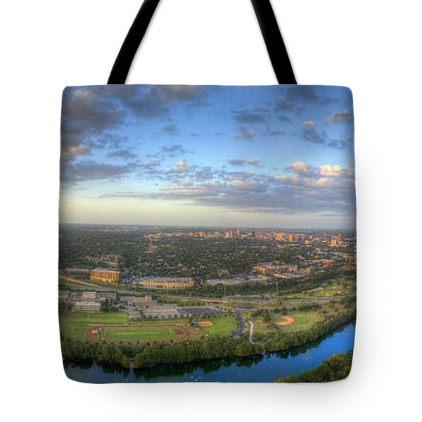 Austin Smile Tote Bag by Andrew Nourse