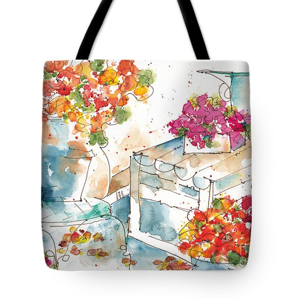 Au Nom De La Rose Tote Bag