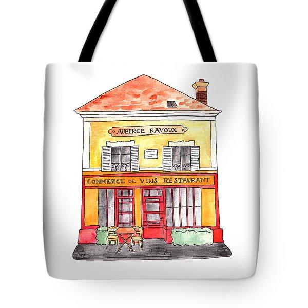 Auberge Ravoux Tote Bag