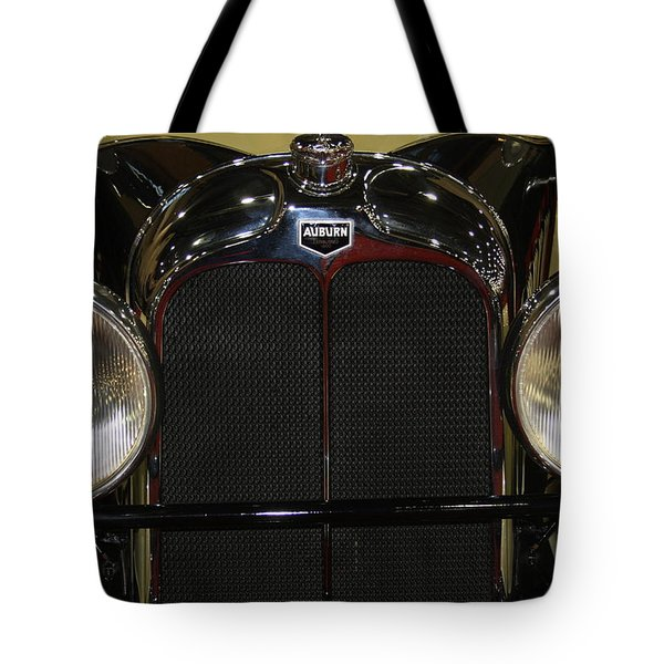 Tote Bag featuring the photograph Auburn 8-88 Boat Tail Speedster by Vadim Levin