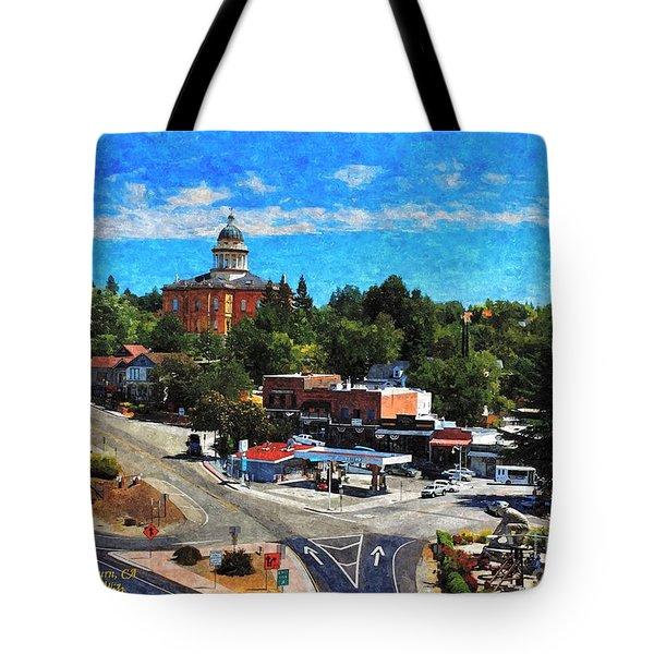 Auburn Ca Tote Bag