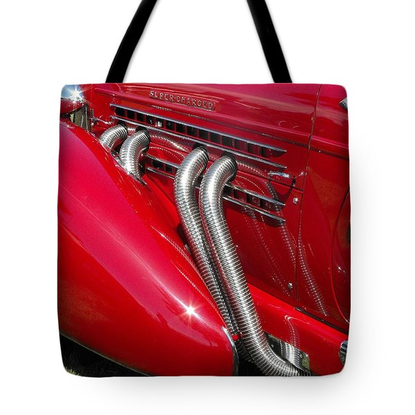 Auburn Speedster Tote Bag