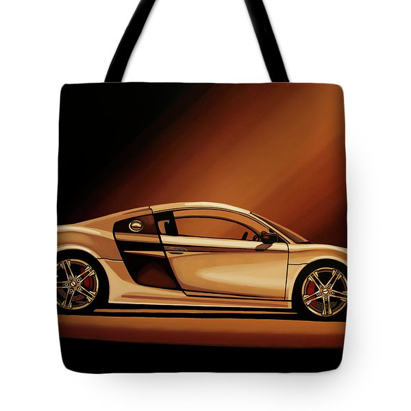 Audi R8 2007 Painting Tote Bag