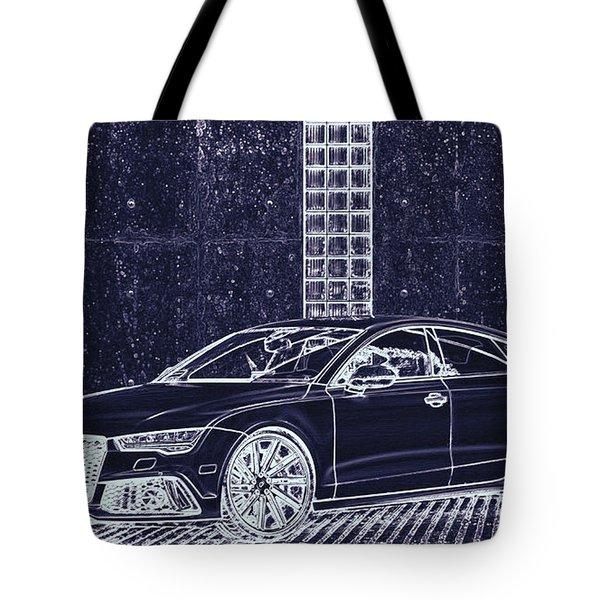 Audi Rs7 Vossen  Tote Bag by PixBreak Art