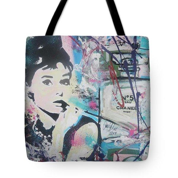Audrey Chanel Tote Bag
