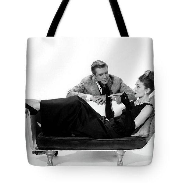 Audrey Hepburn Holly Golightly Breakfast At Tiffanys  Tote Bag