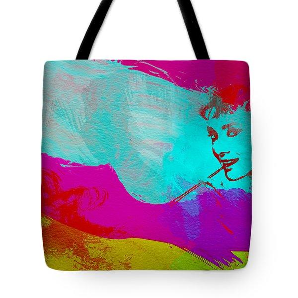 Audrey Hepburn Tote Bag by Naxart Studio