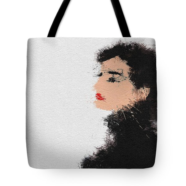 Audrey Hepburn Tote Bag by Miranda Sether