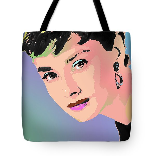 Audrey Tote Bag by John Keaton