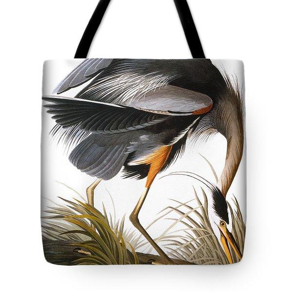 Audubon: Heron Tote Bag by Granger