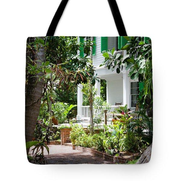 Audubon House Entranceway Tote Bag