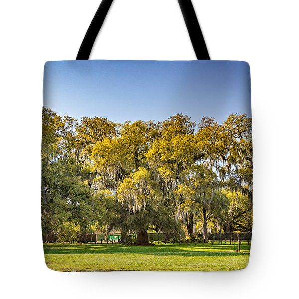 Audubon Park New Orleans Tote Bag