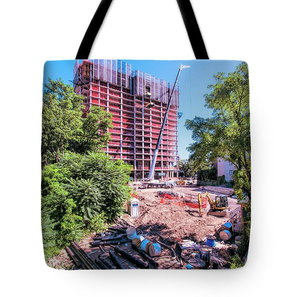 Tote Bag featuring the photograph Aug 23 2016 by Steve Sahm