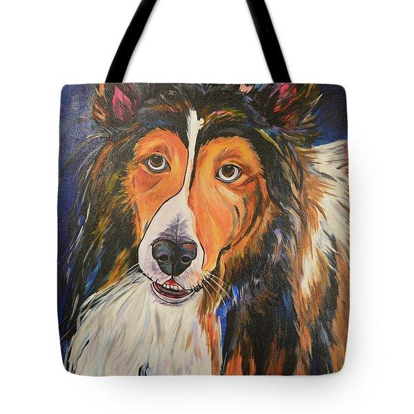 Augie Tote Bag by Patti Schermerhorn