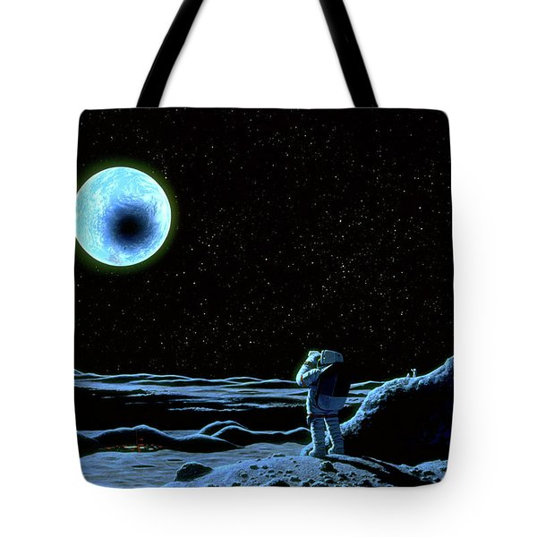 August 21, 2017 Tote Bag by Pat Rawlings