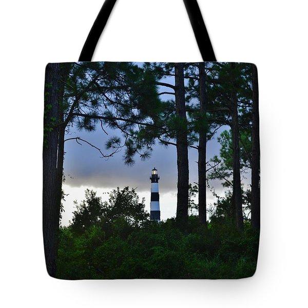 August 9 Bodie Lt House Tote Bag