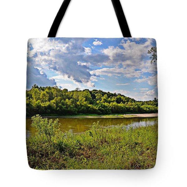 August Afternoon Tote Bag by Linda Brown