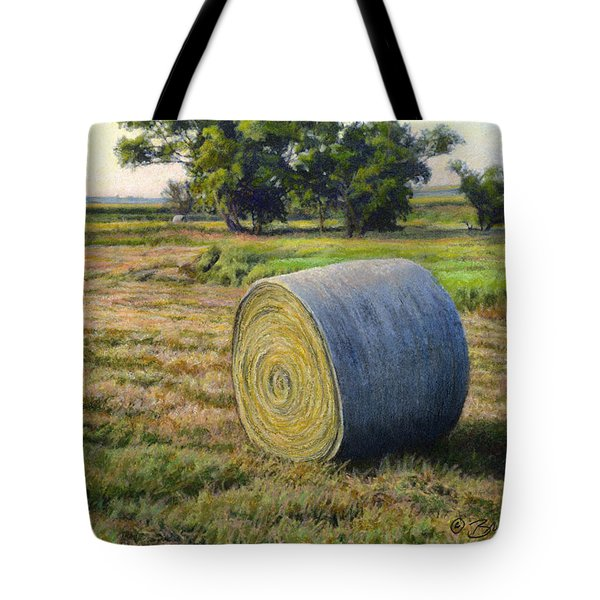 August Bale Study No.1 Tote Bag