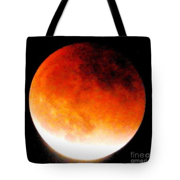 August Eclipse Tucson, Az Tote Bag
